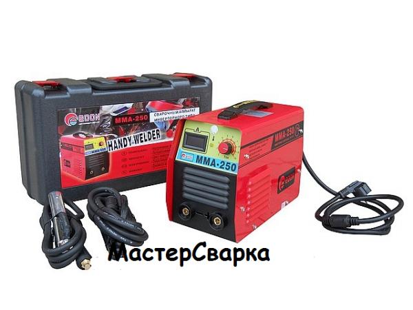 Инверторный сварочный аппарат EDON RED ( ЭДОН ) MMA-250