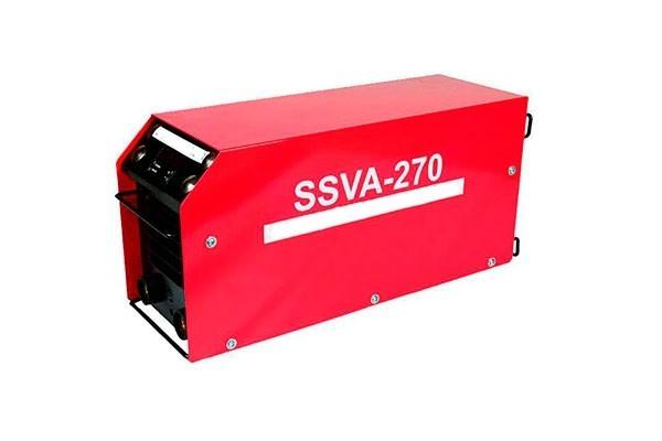 Инверторный сварочный аппарат SSVA-270 с функцией зарядного и пускового устройства