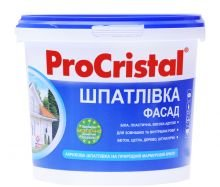 Фото  1 Шпатлевка ПроКристал Фасад ИР-21, 4,5 кг (Ирком) 229646
