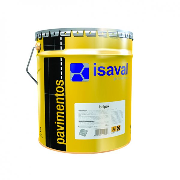 Фото  1 Эпоксидная краска для бетонных полов и металлических конструкций, двухкомпонентная ИЗАЛПОКС 4л до 36м2 2081393