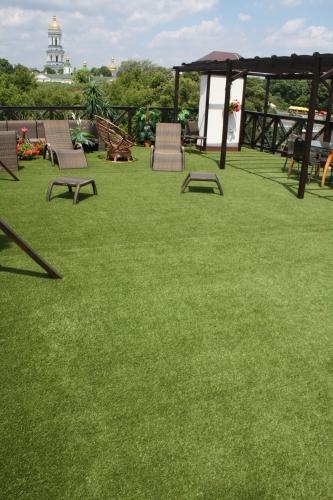 Искусственная ландшафтная трава