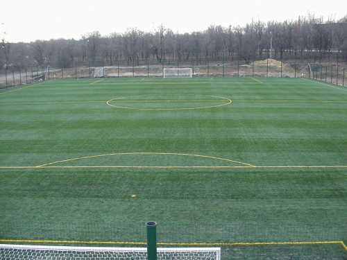 Искусственная трава для футбольного поля высота 5 см