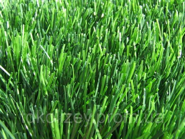 Фото  1 Искусственная трава высота газона 20мм, Вес 1010г/м2.Ширина 2 и 4 м. 1432664