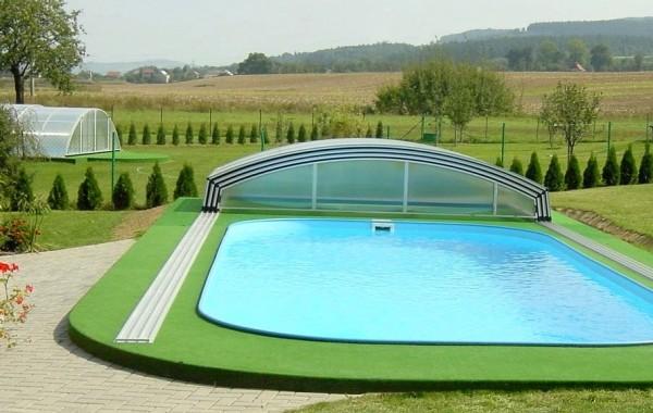 Искуственный газон вокруг бассейнов 5 мм