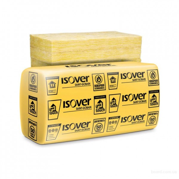 Isover Каркас-П37/MUL (Лямбда10 = 0.037) Универсальная теплоизоляция. Разм.1170х610х100 Упаковка: 7,14 кв. м.10шт. плит