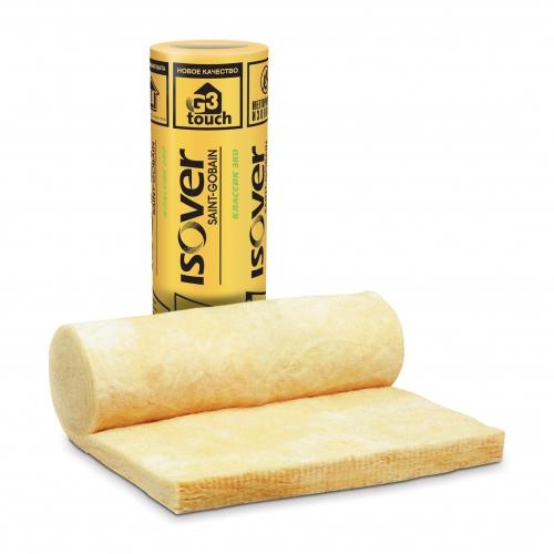 ISOVER Классик Эко – легкие универсальные теплоизоляционные маты (рулоны), изготовленные из стекловолокна .