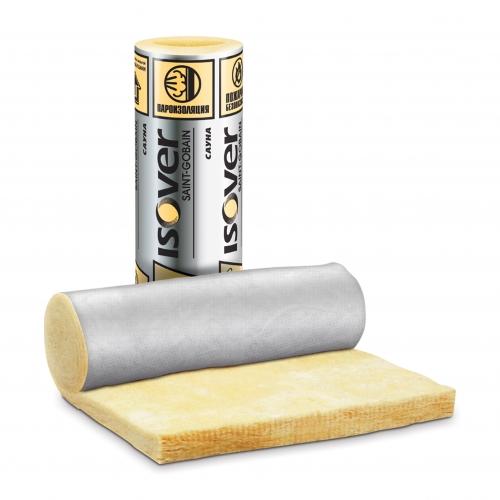 ISOVER Сауна - легкие тепло и звукоизоляционные маты (рулоны) из стекловолокна