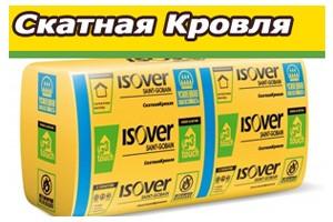 Isover Скатная кровля/MUL(Лямбда10 = 0.037) Теплоизоляция с повыш. влаг-костью!