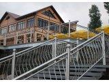 Фото  8 Перила, лестницы, поручни нержавеющая сталь : поручни 50мм. стойка 33мм. заполнение 20 мм. Днепропетровск, Кировоград 89389