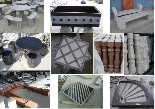 Изделия из натурального камня любой сложности. Дизайнерское оформление входных групп, бассейнов, памятников.