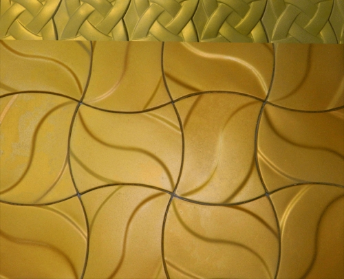 Изготавливаем гипсовую плитку в наличии и под заказ, для облицовки и декорирования помещений
