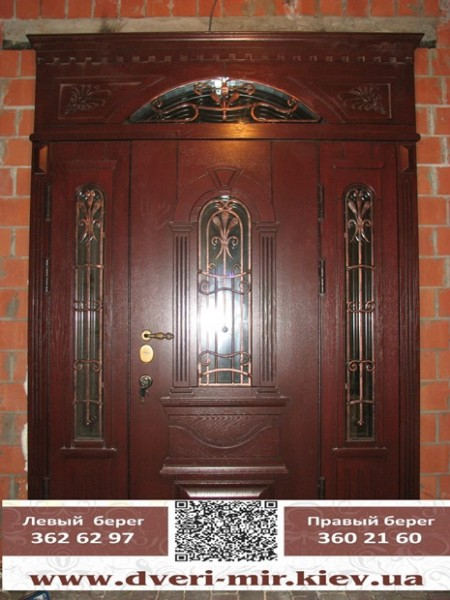 железные двери по индивидуальному заказу