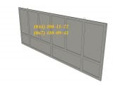 Фото  1 Изготовление бетонных заборов Плита ПЗ 60x20, большой выбор ЖБИ. Доставка в любую точку Украины. 1941167