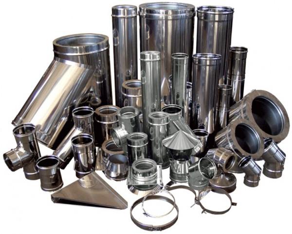 Изготовление дымоходов: из нержавеющей стали, из черного металла, утепленные.