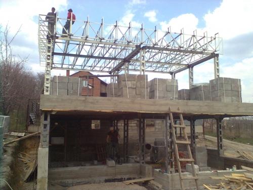 Изготовление и монтаж несущих, ответственных, ограждающих металлоконструкций элементов зданий и сооружений