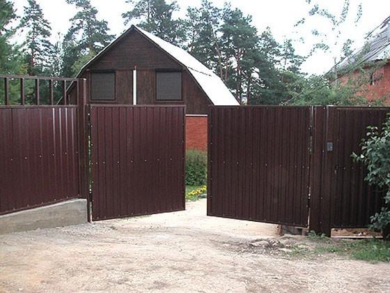 Изготовление и установка ворот