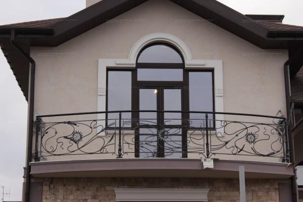 Изготовление кованых балконных ограждений под заказ в Днепропетровске. тел. для заказа 097 45 777 29