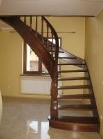 Изготовление лестниц из древесины.