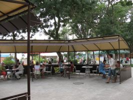 Изготовление летних площадок для кафе и ресторанов