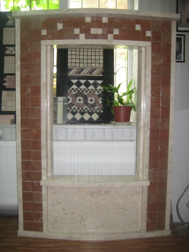 Изготовление мраморных каминов под заказ.