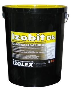 Izobit DK - мастика битумно-каучуковая на основе растворителей, консервация рубероидов, гидроизоляция
