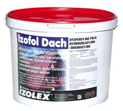 Izofol Dach - кровельная изоляционная мастика На битумную изоляцию, керамическую и жестяную кровлю, на шифер и бетон.