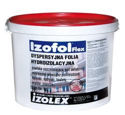 Izofol Flex - высокоэластичная дисперсионная гидроизоляционная мембрана для наружных и внутренних работ. Под плитку.