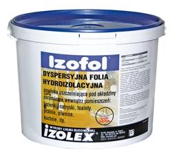 Izofol -высокоэластичная гидроизоляционная мембрана под плитку для внутренних работ.