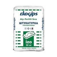 IZOGIPS Еко (30 кг) Штукатурка гіпсова Турція