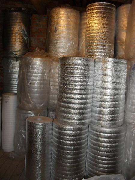 IZOLON 100 1-10мм: чистое полотно, ламинированное, фольгированное, с разметкой под теплый пол. . . Производство Харьков