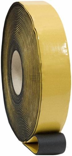 Фото  1 Монтажная изоляционная лента на основе вспененного каучука N-flex Tape 100х3х15000 1435815