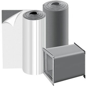 Изоляция K-FLEX AIR 6 Предн. для тепло– и звукоизол. систем вентиляции и конд-ния воздуха (от -30до 85). /кв. м:45