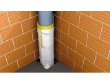 Фото  1 Звукоізоляція труби в санузлі, готовий набір. 2051547