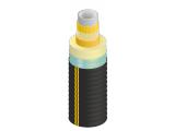 Предизолированные трубы Flexalen,Изопрофлекс, стальные трубы в ППУ изоляции