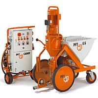Известковая машинная штукатурка. Стоимость 1 м кв. трудозатрат готовой поверхности (с  учетом стоимости материалов)