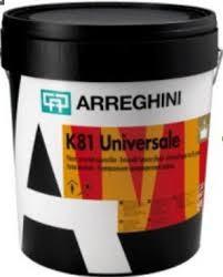 К 81 Universale - Матовая универсальная краска. Прекрасно моется, используется как внутри, так и снаружи.