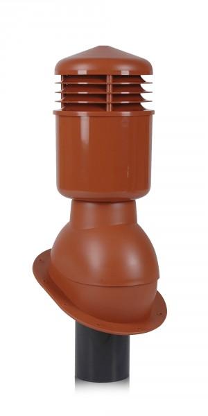 К24- Вентиляционный выход WIRPLAST Normal 110 мм утепленный для кровли из битумной черепицы или металлической кровли
