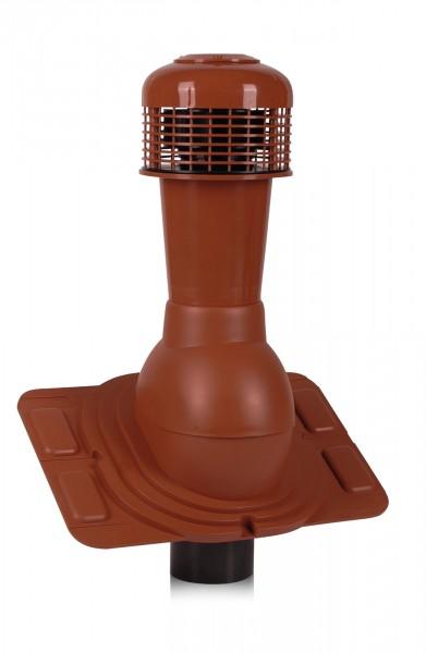 К44 - Вентиляционный выход WIRPLAST UNIWERSAL 110 мм с вентилятором универсальный