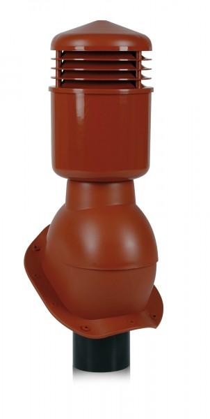 К49 - Вентиляционный выход WIRPLAST PERFEKTA 110 мм утепленный для металлочерепицы, профнастила и фальцевой кровли