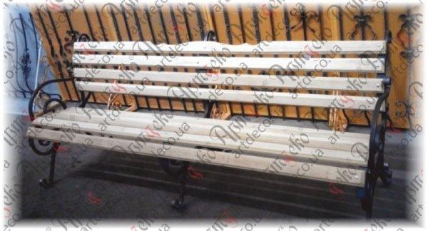 Фото  1 Лавочки из трубы с подлокотником 890х800х20- (комплект - левая, правая) и без подлокотника 890х800х20 (поштучно) 1361150