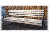 Фото   Лавочки из трубы с подлокотником 890х800х20- (комплект - левая, правая) и без подлокотника 890х800х20 (поштучно) 1361150