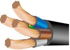кабель КГ 3х70 1х25