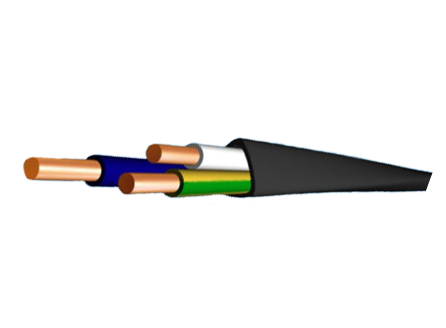 кабель ВВГ 3х240 1х120
