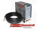 Фото  1 Тонкий нагревательный кабель DR 96м, 1200Вт, Hemstedt (Германия) 1888607
