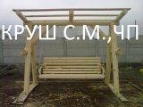 Фото 1 деревянные качели 338400