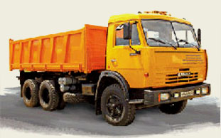 КАМАЗ 55102, грузоподъёмность: 10 т, объем платформы: 12 м. куб.