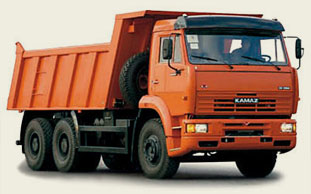 КАМАЗ 6520,  25 т, объем платформы: 18 м. куб.