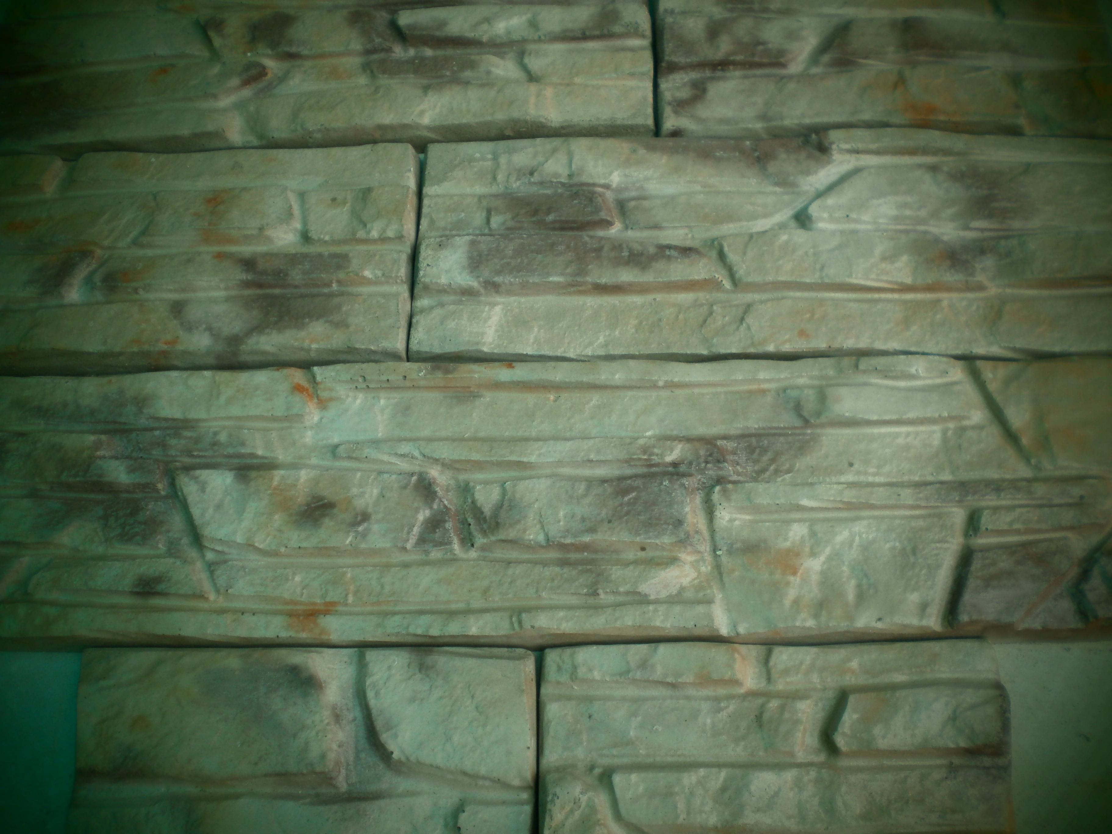 Камень декоративный из гипса, бетона