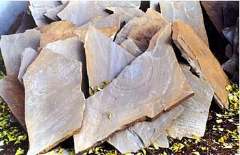 Камень природный. Песчаник кварцевый плоский толщиной 30мм 36,0кв. м. /поддон