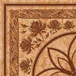 Каменный цветок бежевый(Рис. ) 300х300размер, мм (доставка)